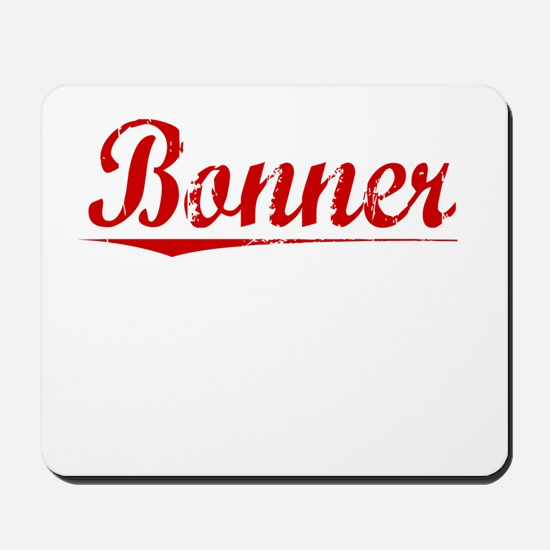 Bonner, Vintage Red Mousepad