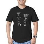 sudo-get-me-the-remote Men's Fitted T-Shirt (d