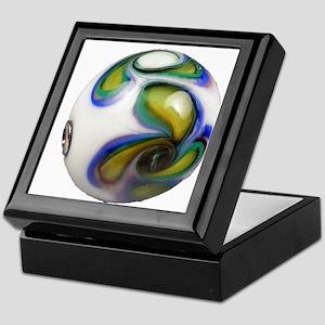 The Painted Paisley Bead Keepsake Box