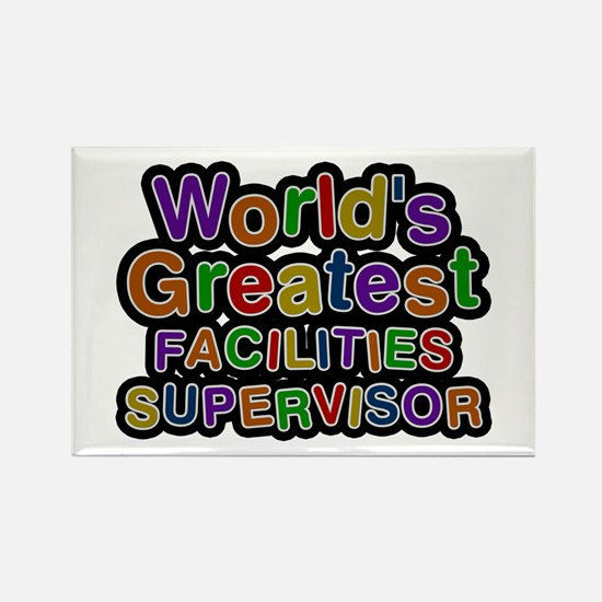 World's Greatest FACILITIES SUPERVISOR Rectangle M