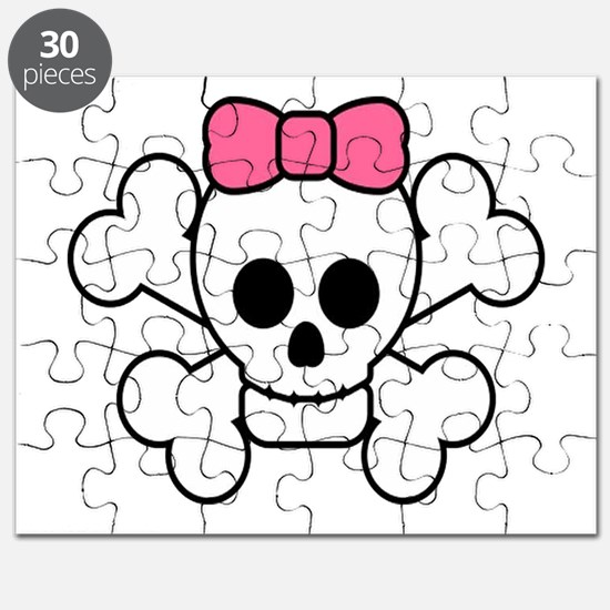 Girly Skull Puzzle