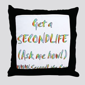 Get a SecondLife Throw Pillow