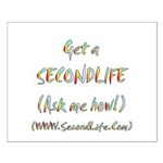 Get a SecondLife Small Poster