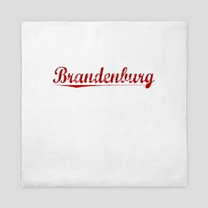 Brandenburg, Vintage Red Queen Duvet
