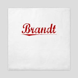 Brandt, Vintage Red Queen Duvet