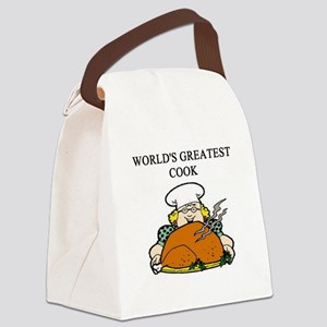 worlds greatest cook Canvas Lunch Bag