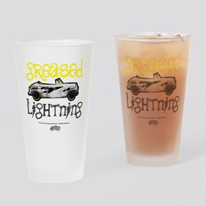 Greased Lightning Drinking Glass