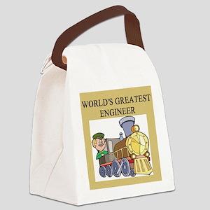 funny joke engineers engineering Canvas Lunch Bag