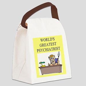 worlds greatest psychiatrist Canvas Lunch Bag