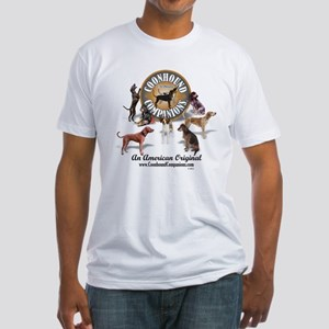 Logo + hounds Fitted T-Shirt
