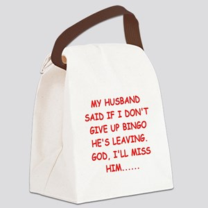 BINGO Canvas Lunch Bag