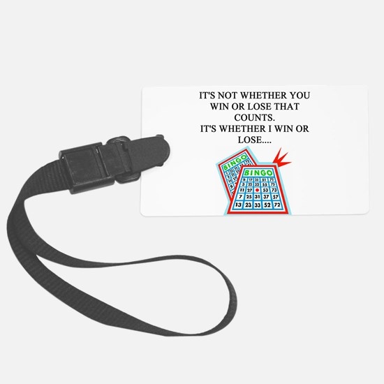 bingo player gifts t-shirts Luggage Tag