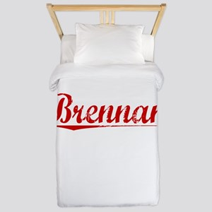 Brennan, Vintage Red Twin Duvet