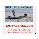 Ice Fishing Mousepad