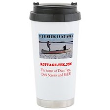 Ice Fishing Stainless Steel Travel Mug