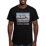 Ice Fishing Men's Fitted T-Shirt (dark)
