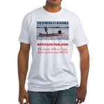 Ice Fishing Fitted T-Shirt