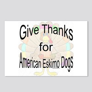 Thanks for American Eskimo Dog  Postcards (Package