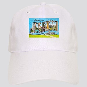 Jackson Mississippi Greetings Cap