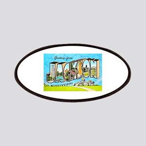 Jackson Mississippi Greetings Patches