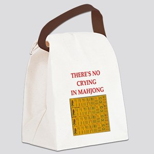 mahjong gfts Canvas Lunch Bag