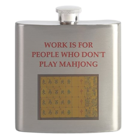 funny games player joke mahjong Flask