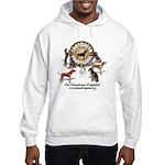 Logo + hounds Hooded Sweatshirt