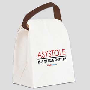 Asystole 3 Canvas Lunch Bag
