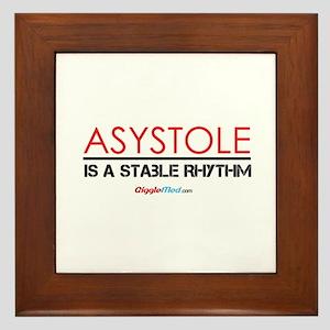 Asystole 3 Framed Tile