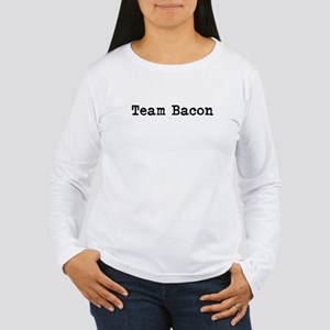 Team Bacon Women's Long Sleeve T-Shirt