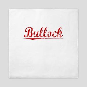 Bullock, Vintage Red Queen Duvet