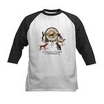 Logo + hounds Kids Baseball Jersey