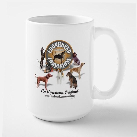 Logo + hounds Large Mug