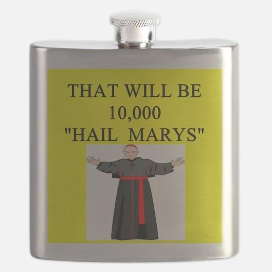 hail mary catholic humor Flask