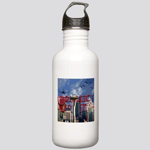 Seattle Icons Stainless Water Bottle 1.0L
