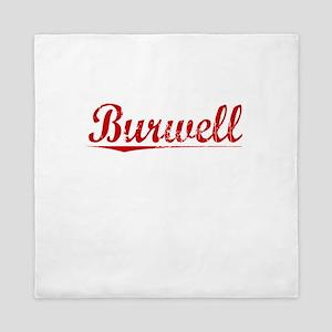 Burwell, Vintage Red Queen Duvet