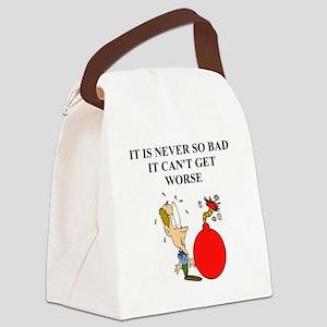 funny jewish joke Canvas Lunch Bag