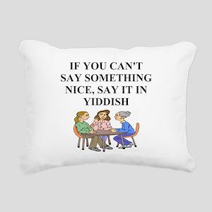 funny jewish joke yiddish proverb Rectangular Canv