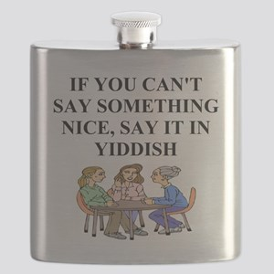 funny jewish joke yiddish proverb Flask