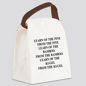 funny jewish joke wisdom Canvas Lunch Bag