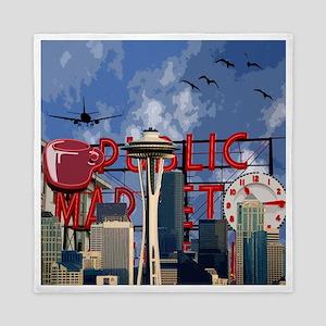 Seattle Icons Queen Duvet