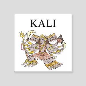 funny hindu vishne shive kali joke Square Sticker