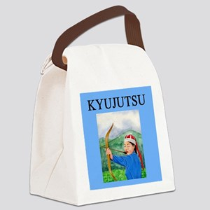 worlds greatest kyujutsu artist Canvas Lunch Bag