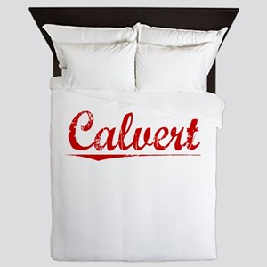 Calvert, Vintage Red Queen Duvet