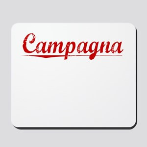 Campagna, Vintage Red Mousepad