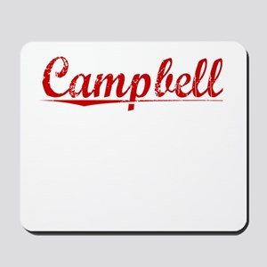 Campbell, Vintage Red Mousepad
