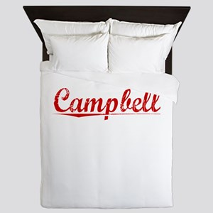 Campbell, Vintage Red Queen Duvet