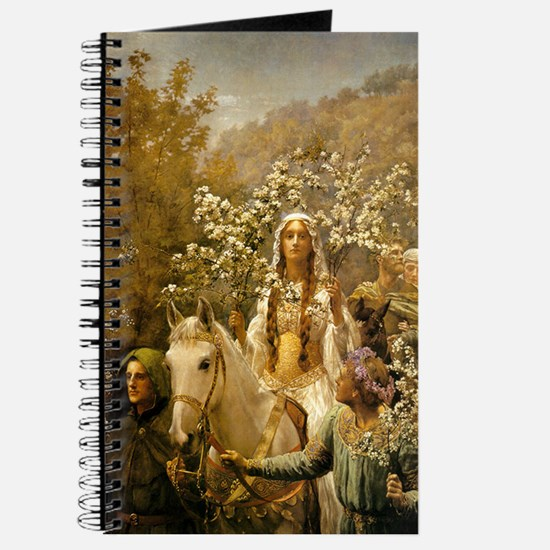 Queen Guinevere 'The Maying' Journal