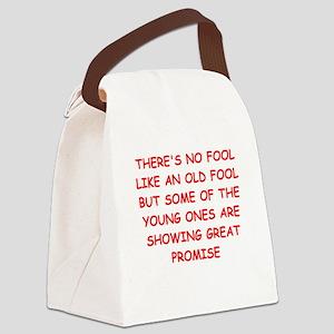 FOOLS Canvas Lunch Bag