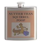 nutty squirrel poop Flask